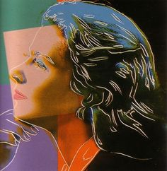 Andy Warhol : Ingrid Bergman who was a Swedish actress who starred in European and American films. Famous for her role as Ilsa Lund in 'Casablanca'