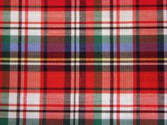 During the snowy winter, my mother wore a flannel scarf in these colors.  Must find some!! Vintage Red Green White and Black Plaid by DorisSardelisFabrics, $9.50