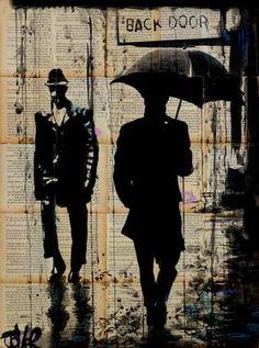 """Saatchi Art Artist Loui Jover; Drawing, """"backdoor"""" #art"""