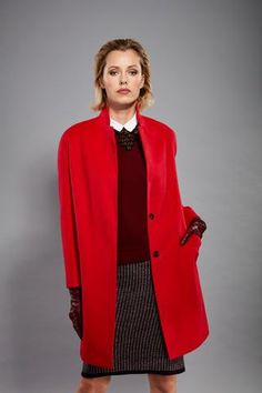 Coat made of 100% cashmere