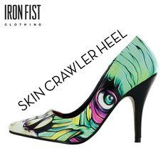 아이언피스트 SKIN CRAWLER HEEL  #ironfist #아이언피스트 #여자신발 #여자구두 #하이힐