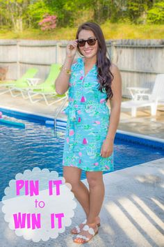 """PIN IT to WIN IT!  To WIN our """"Island Time"""" dress: 1. REPIN this photo 2. COMMENT your size 3. FOLLOW Juliana's Boutique on Pinterest **MUST repin and comment from original photo** Winner announced in comments on 5/25/15- shopjulianas.com"""