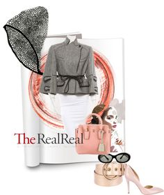Date Night Dressing with The RealReal: Contest Entry von divatmalom , butterfly home decor enthaltend Date Night Dresses, Zac Posen, Charlotte Olympia, Vivienne Westwood, Polyvore Fashion, Fashion Backpack, Dating, Fashion Boards, Dressing