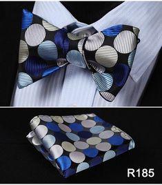 Woven Men Bow Tie Set