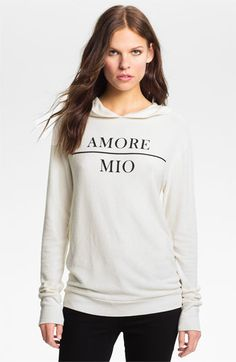 Wildfox 'Amore Mio' Graphic Hoodie available at #Nordstrom