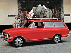 Opel Kadett L Caravan USA - 1968