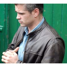 London Boulevard Colin Farrell Leather Jacket For Sell