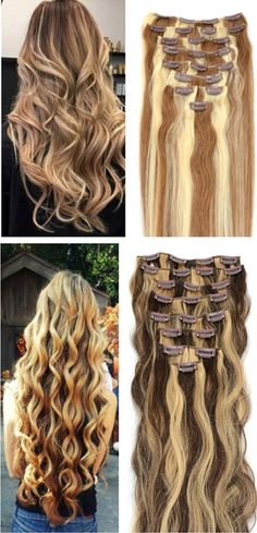 Long beautiful hair extensions, get your new look instantly!