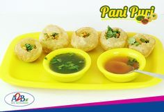 Crispy puri taking in a dip in the sweet and sour pani, relish the ever tasty and the most favourite snack of all- Pani Puri at Adyar Ananda Bhavan  www.aabsweets.in | admin@aabsweets.com +91- 44 - 23453050, 24469977, 24462324  #AdyarAnandaBhavan #Food #Foodie #Restaurant #Snack #PaniPuri