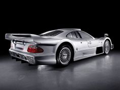Mercedes-Benz CLK GTR AMG Road Version. Rear Angle.