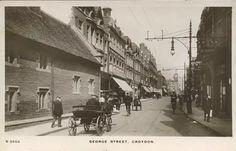George Street Croydon 1913 London History, Local History, Family History, Old London, East London, Thornton Heath, Croydon, Crystal Palace, Back In Time