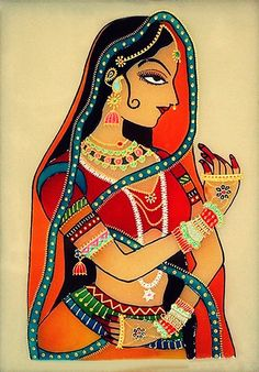 Indian Princess - Glass Painting By CristalArt - Buy Glass Paintings at best price of Rs 2125 from Cristal Art. Rajasthani Painting, Rajasthani Art, Rajasthani Miniature Paintings, Madhubani Art, Madhubani Painting, Diwali Painting, Traditional Paintings, Traditional Art, Cristal Art