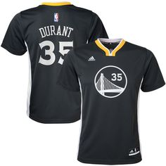 Kevin Durant Golden State Warriors adidas Youth Alternate Replica Jersey - Charcoal - $49.99