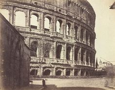 The Colosseum, detail 1856