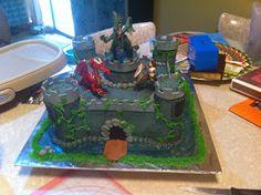 Sarah Jones Cakes!: Castle Cake