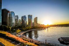 Vancouver Golden Sunset by Rachael Pawlak on 500px