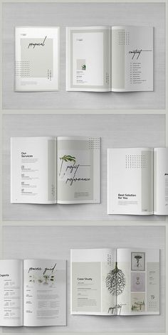 ideas for design layout booklet fonts Mise En Page Portfolio, Portfolio Layout, Portfolio Design, Design Brochure, Brochure Layout, Brochure Template, Pamphlet Template, Corporate Brochure, Graphic Design Magazine