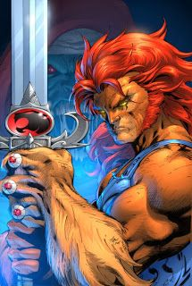 Lion-O, ThunderCats. Art by legendary comic artist Jim Lee. Comic Book Characters, Comic Character, Comic Books Art, Jim Lee Art, Arte Dc Comics, Animation, Art Graphique, Anime Comics, Caricatures