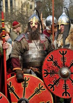 Rus Vikings: the Varangian Guard. The imperial bodyguard and elite troops who…