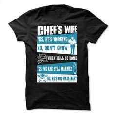 Chefs Wife T Shirt, Hoodie, Sweatshirts - printed t shirts #fashion #T-Shirts