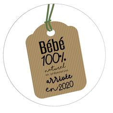 Badge annonce grossesse étiquette BIO Grandparent Announcement, Sibling Announcement, Maternity Photography, Grandparents, Planner Stickers, Baby Shower, Husband, Social Media, Babies