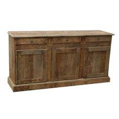 Vintage Pine Sideboard SideboardDining Room