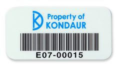 Durable polyester asset tags & labels are available in a wide variety of sizes and colors.