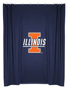 ATHLEZ - Illinois Fighting Illini Shower Curtain