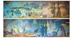 Moomin.com - Murals by Tove Jansson in Hamina, Finland