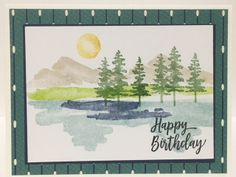 Waterfront Stamp Set - 2018 Occasions Catalog