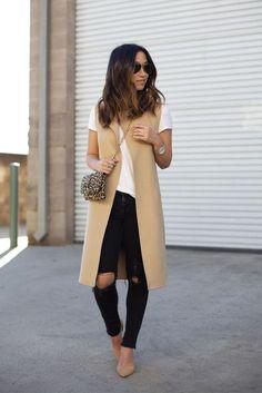 1000+ ideas about Long Vest Outfit on Pinterest | Long Vests, Vest ...