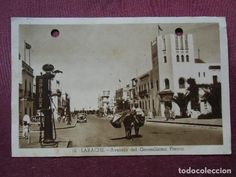 LARACHE(Protectorado Español en Marruecos)postal circulada a Novelda (Alicante) 24/7/1950. - Foto 1