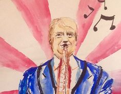 "Check out new work on my @Behance portfolio: ""Donald Trump...."" http://be.net/gallery/50568061/Donald-Trump"