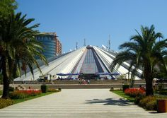 Magnificent Modern Buildings that Look Like Ancient Pyramids - Tirana's Pyramid made the list! :D