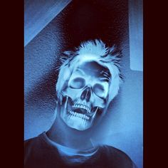 Ghost in the Machine Pt. 2  #art #skull #ghost #machine #animal #skeleton #horror #death #instashare #nofilter