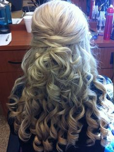 Wonderful Long Curly Hairstyles 2015