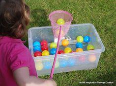Inspire imagination through creation: Toddler Olympics (part 2)
