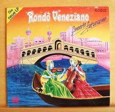 RONDO VENEZIANO Concerto Futurissimo - m - -  Vinyl LP Italo Disco Pop Top RAR