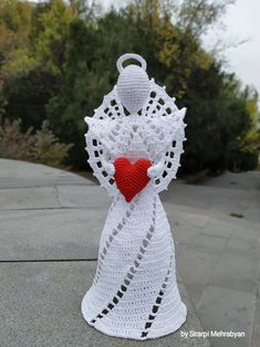 Crochet Christmas Ornaments, Christmas Crafts For Gifts, Christmas Angels, Crochet Snowflakes, Christmas Christmas, Crochet Angel Pattern, Crochet Angels, Crochet Patterns, Crochet Gifts