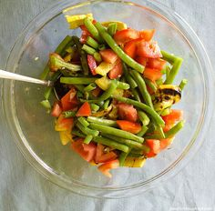 Better Green Bean Salad Green Bean Salads, Green Beans, Three Bean Salad, Food For Thought, Cobb Salad, Picnic, Wellness, Eat, Picnics