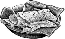 Cornmeal Tortillas: If you don't have masa harina and a tortilla press, this recipe works fine (substitute with GF corn meal and GF all-purpose flour)