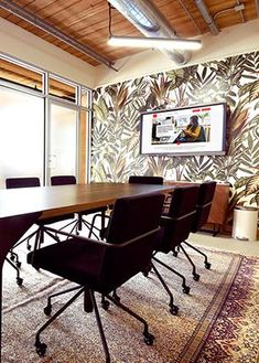 Workplace One - Stylish and functional meeting rooms in best neighbourhoods of Toronto and Kitchener Waterloo Shared Office, Meeting Rooms, Monkey Business, Table Seating, Coworking Space, Workplace, Toronto, The Neighbourhood, Lounge
