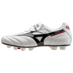 7222cd3d5 eBay  Sponsored MIZUNO SOCCER SHOES SPIKE MORELIA 2 P1GA1501 SUPER WHITE  PEARL SERECT SIZE NEW! Team Sports