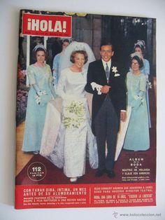 Revista Hola. Nº 1125. 19 Marzo 1966. Album de Boda de Beatriz de Holanda y Claus Von Amsberg.