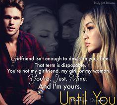 Until You (Fall Away, 1.5) by Penelope Douglas #DirtyGirlRomance