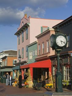 Cape May,  New Jersey downtown... So charming and so much fun!