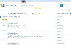 ManualsLib, potente buscador de manuales de usuario para todo tipo de productos