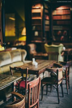 coffee house interior, lviv, ukraine | travel photography