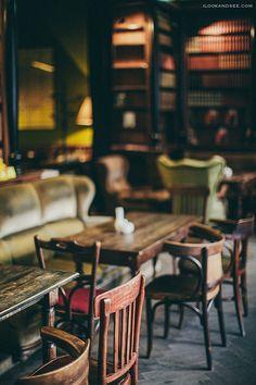 coffee house interior, lviv, ukraine | travel photography
