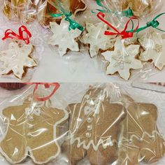 Christmas biscuits by Diamond Tiers